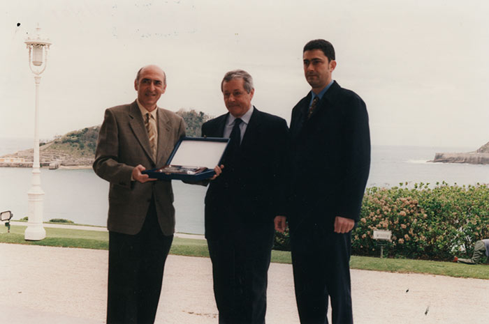 Reconocimiento a Armeria Eskola por la consecución de la certificación ISO 9000