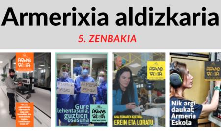 Armerixia aldizkariaren 5. zenbakia argitaratu dugu