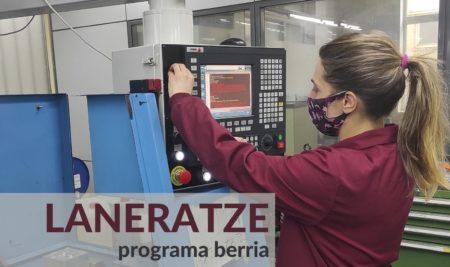 Dagoeneko martxan dago Fabrikazio Mekanikoa arloko laneratze Programa berrian izena emateko aukera