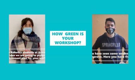 Estudiantes de Mecatrónica y Robótica participan en un proyecto internacional  para hacer los talleres más verdes