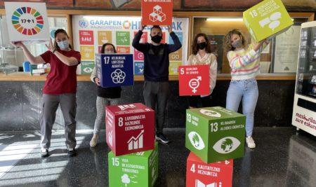 Agenda 2030 forma hartzen Armeria Eskolan