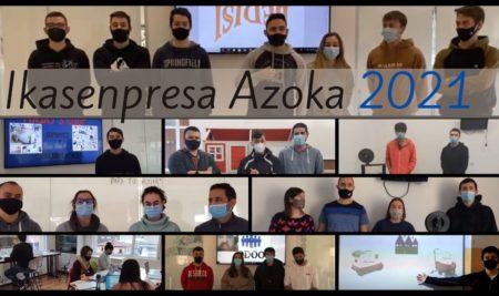 Feria Ikasenpresa 2021. Disponibles los videos de los proyectos empresariales presentados por el alumnado de Armeria Eskola